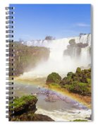 Rainbow In The Water Spiral Notebook