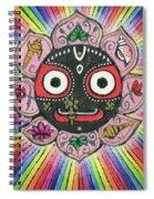 Rainbow Jagannath Spiral Notebook