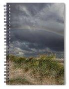 Rainbow Lighthouse Spiral Notebook