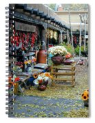 Rainbow Man Courtyart Spiral Notebook