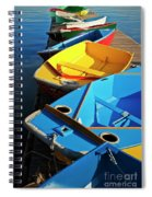 Rainbow Of Prams Spiral Notebook