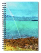 Rainbow On Videy Spiral Notebook