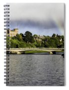 Rainbow Over Inverness Spiral Notebook