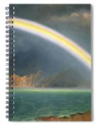 Rainbow Over Jenny Lake Wyoming Spiral Notebook