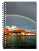 Rainbow Over Lake Powell Spiral Notebook
