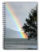 Rainbow Over Odell Spiral Notebook