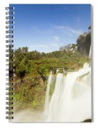 Rainbow Over The Waterfall Spiral Notebook