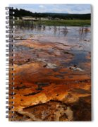 Rainbow Pool - Yellowstone Np Spiral Notebook