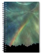 Rainbow Showers Spiral Notebook