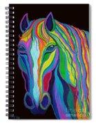 Rainbow Stallion Spiral Notebook
