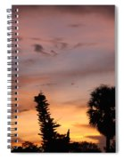 Rainbow Sunset Spiral Notebook