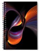 Rainbow Tango Spiral Notebook