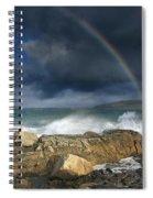 Rainbow To Heaven Shamrock Shores  Spiral Notebook