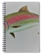 Rainbow Trout Spiral Notebook