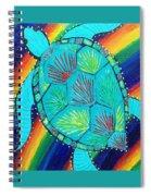 Rainbow Turtle Spiral Notebook