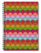 Rainbow Unicorn Scales Spiral Notebook