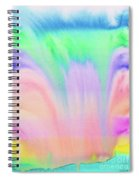 Rainbow Waterfall Spiral Notebook