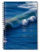 Rainbow Wave Spiral Notebook