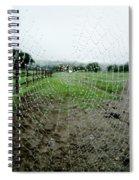 Raincatcher Web Spiral Notebook