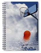 Rained Out Game Spiral Notebook
