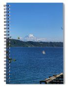 Rainier From Gig Harbor Park Spiral Notebook