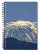 Rainer Peeking Over The Hills   Spiral Notebook