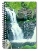 Rainforest Waterfalls Spiral Notebook