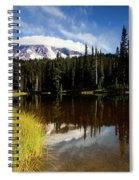 Rainier Capped Spiral Notebook