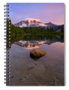 Rainier Dawn Breaking Spiral Notebook