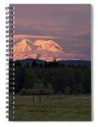 Rainier Dusk Spiral Notebook