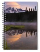 Rainier Lenticular Sunrise Spiral Notebook