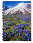 Rainier Lupines Spiral Notebook