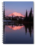 Rainier Sunrise Spiral Notebook
