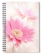 Raining Petals Spiral Notebook