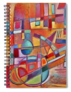 Rainmaker's Rattle Spiral Notebook