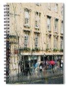 Rainy Bath Spiral Notebook