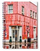 Rainy Corner Spiral Notebook