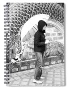 Rainy Day At The Wat Phra That Temple Spiral Notebook