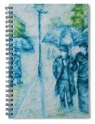 Rainy Day Impression Spiral Notebook