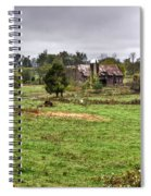 Rainy Day On The Farm Spiral Notebook