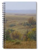 Rainy Day On The Plains Spiral Notebook