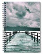Rainy Days In Summerland 2 Spiral Notebook