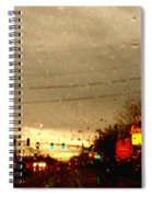 Rainy Evening Spiral Notebook