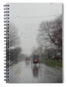 Rainy Fall Day Spiral Notebook