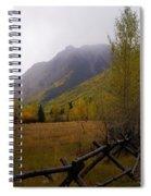 Rainy Fall Spiral Notebook