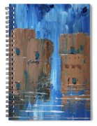 Rainy Night At The Pueblo Spiral Notebook