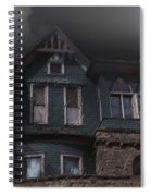 Rainy Night House Spiral Notebook
