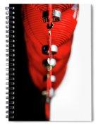 Raise The Red Lantern Spiral Notebook