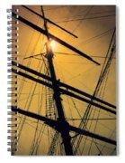 Raise The Sails Spiral Notebook