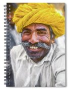 Rajput High School Teacher - Paint Spiral Notebook